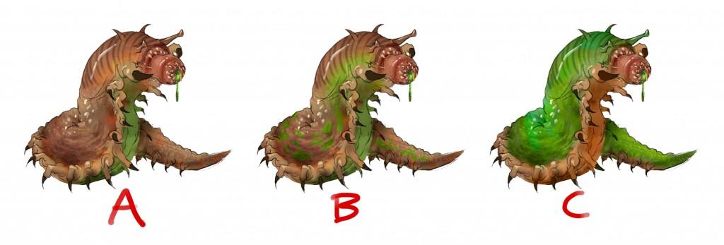 Slime monster draft 2